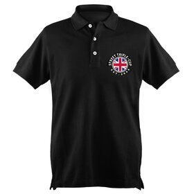 T- Cup Polo-Shirt MEN black