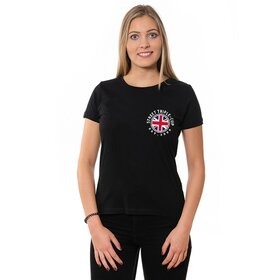 T- Cup U-Neck T-Shirt LADIES black