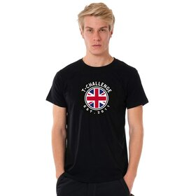 T- Challenge U-Neck T-Shirt MEN black