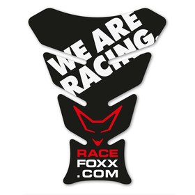 Tankpad im Racefoxx Design We are Racing