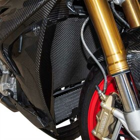 BMW S1000R/RR/HP4 cooler protection set, black