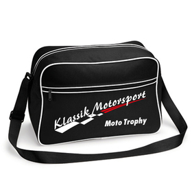 Klassik Motorsport Retro Bag schwarz