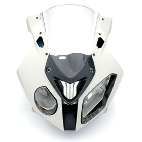 BMW S1000RR / HP4 mirror covers, black