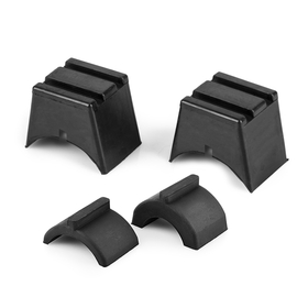 Front Fork Steering Limiter Blocks with Adjustable Thickness