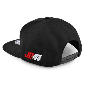 Jan # 44 Cap, black, embroidery red/white