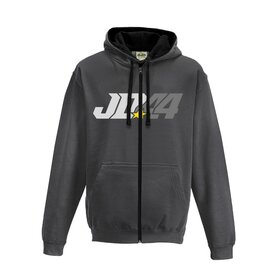 Jan # 44 Sweat jacket Charcoal