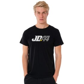 Jan # 44 U-Neck T-Shirt MEN, black