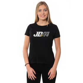 Jan # 44 U-Neck T-Shirt LADIES, black