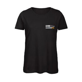 IDM U-Neck T-Shirt LADIES, black