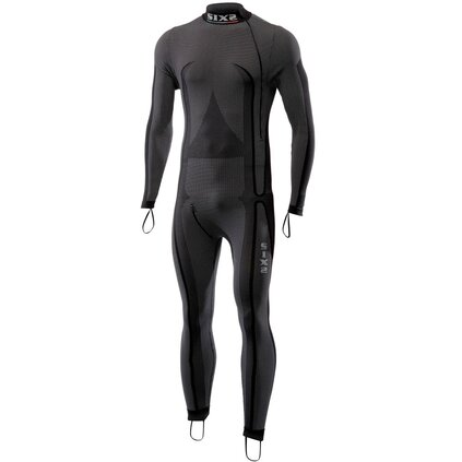 Funktions Underall STX, High Neck R, schwarz