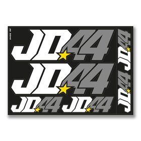 Jan # 44 Decal Sheet black