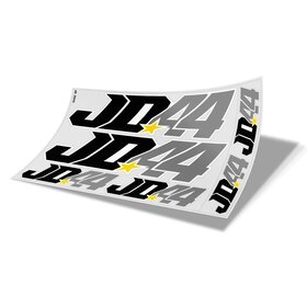 Jan # 44 Decal Sheet white