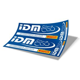 IDM Decal Sheet blue