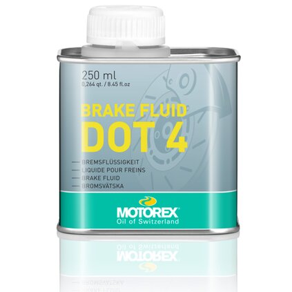 Brake Fluid DOT 4, 250 ml