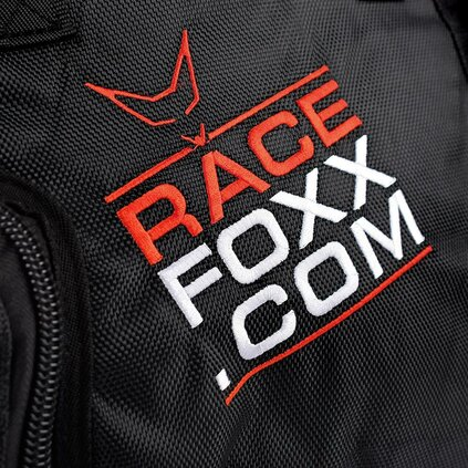 RACEFOXX Helmet Bag w Soft Inlay and Visor Compartment