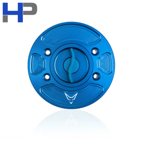 BMW S1000R/RR/R9T Racing Fuel Cap, Blue