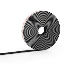 3M SJ 3550 dual lock hook loop tape, 10 m, black