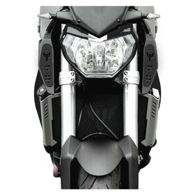 Yamaha MT09 RAM AIR COVERS, black, logo
