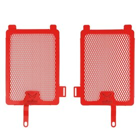 BMW R1200 GS cooler protection set, red,  2013>>