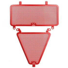 Ducati 1199 Panigale cooler protection set, red