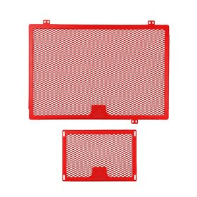 Ducati Multistrada 1200 cooler protection set, red, 13>>16