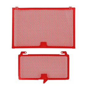 Suzuki GSX - R1300 Hayabusa cooler protection set, red,...