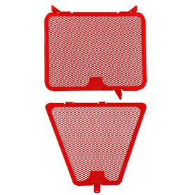 Ducati Streetfighter cooler protection set, red, all models