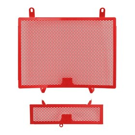 Triumph Speed Triple 1050 cooler protection set, red,...