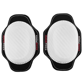 RACEFOXX kneesliders, pair, white