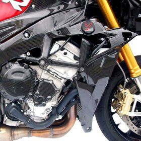 BMW S1000R Carbon-Fibre Inner Side Panels, matt, right...