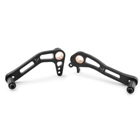 Ducati Scrambler Foot lever set for gearbox and brake, black