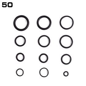 O-Ring Sortiment, 50 Teile