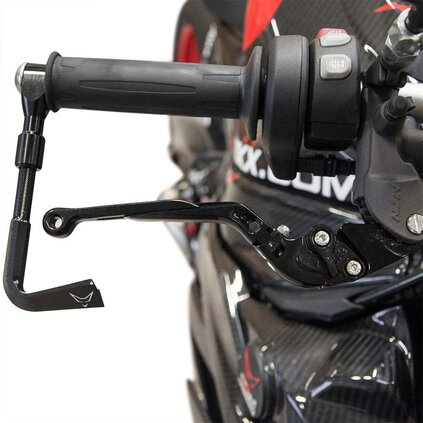 BMW S1000R/RR/HP4, brake lever fully adjustable, black