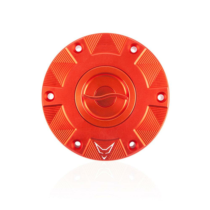 RACEFOXX Racing Fuel Cap for KTM 1290, Orange