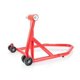 Single Arm Stand, red, for many bikes