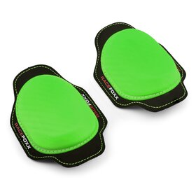 RACEFOXX Kneesliders, pair, green
