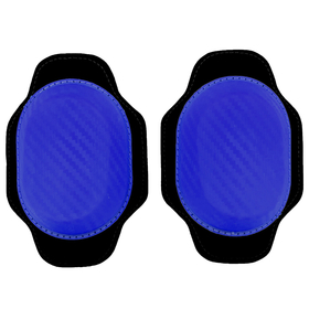 RACEFOXX kneesliders, pair, blau