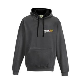 Didier Grams #26 Hoodie Charcoal, small logo