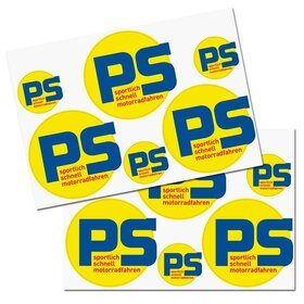 PS Decal sheet