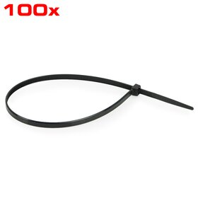 Cable ties 200 mm, 100 pcs