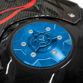 BMW S1000R/RR Racing Rapid Fueling Cap, Blue