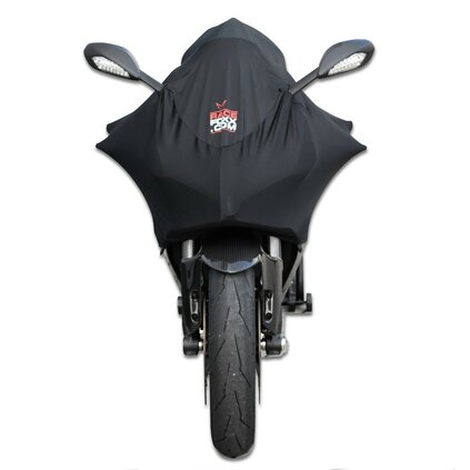 Bike cover, high end stretch material NEW now waterresistant!