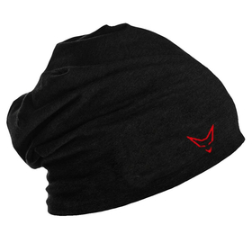 Beanie Beechfield, black/red